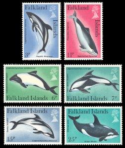 Falkland Islands 1980 Scott #298-303 Mint Never Hinged
