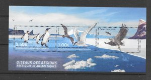 BIRDS - FRENCH SOUTHERN ANTARCTIC TERRITORY #573   MNH