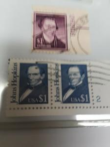 US High Value $1 Block / Plate #