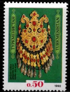 Turkmenistan Scot 1  MNH**