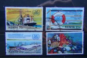 Kenya 1983 25th Anniversary of Inter Government Maritime Organisation set Used