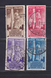 Italy 306-309 Set U Statue (A)