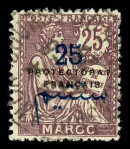 French Morocco 46 Used