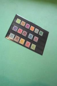 BRD Deutschland Germany ** MNH Posthorn Set Stamp Collection Original Gum