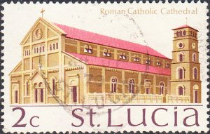 St. Lucia    #262    Used