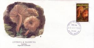 Antigua & Barbuda FDC SC# 958 Scarletina Fungus L89