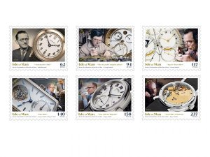 Stamps  Isle of Man 2020 -  Set of stamps. Isle of Man watchmakers