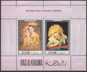 1968 Ras Al Khaima 249-50/B44 Paintings