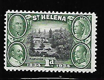 ST HELENA 102 MINT HING 1934 ISSUE