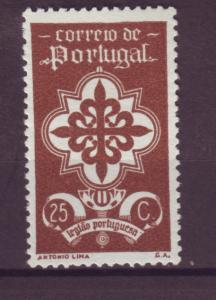 J15258 JLstamps 1940 portugal part of set mng #582 emblem