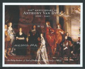 Maldive Islands 2433 2000 Van Dyck Art s.s. MNH