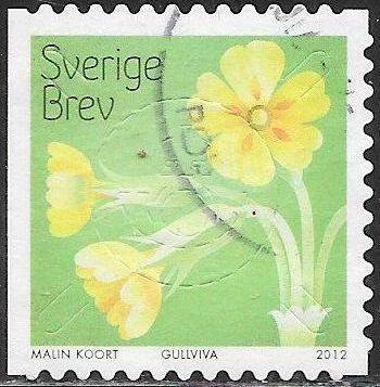 Sweden 2692b Used - Flowers - ‭‭‭Hairy Violet (buskviol)