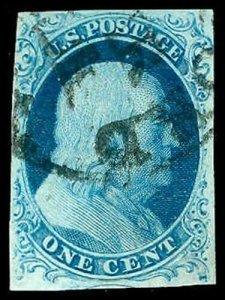 U.S. 1851-57 ISSUE 7  Used (ID # 73894)