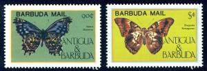 HALF-CAT BRITISH SALE: BARBUDA #714-18 Mint NH