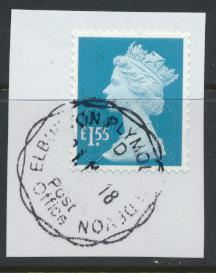 Great Britain - £1.55 Security Machin Used 2018 - No Source Code - Date Code 18