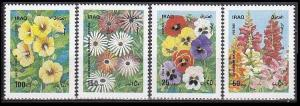 1989 Iraq 1482-85 Flowers 5,00 €