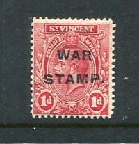 St Vincent #MR1 Mint