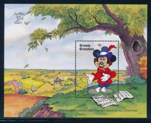 Disney Grenadines - MNH Souvenir Sheet Stratford #1181 (1990)