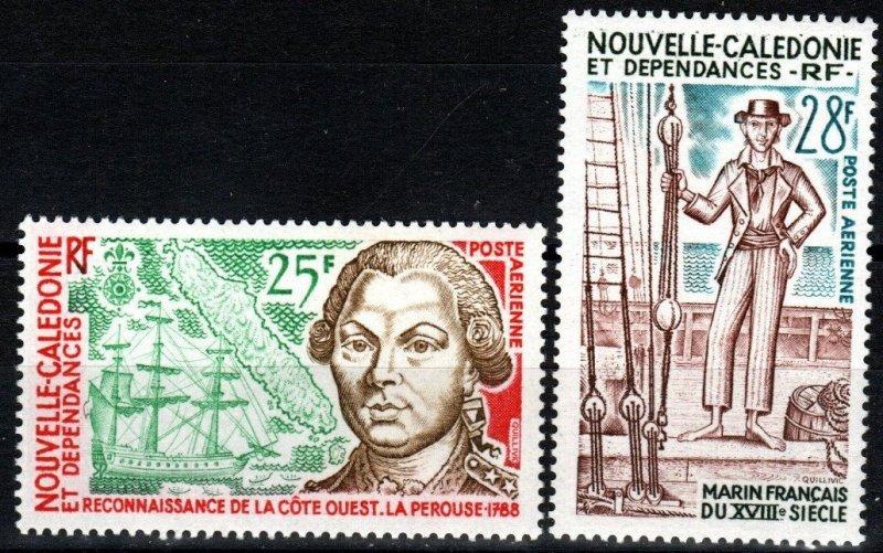 New Caledonia  #C115-6 MNH CV $7.00 (X6915)