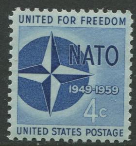 STAMP STATION PERTH USA #1127  MNH OG 1959  CV$0.25.