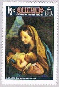 Grenada Mother and Child half - pickastamp (AP103608)