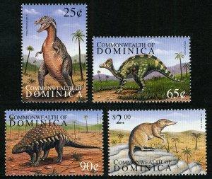 Dominica 1999 Scott #2133-2136 Mint Never Hinged