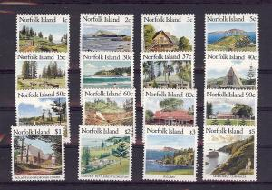 Norfolk Islands, 401-16, Island Scenery Singles, **MNH**