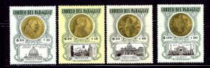 Paraguay B16-19 MNH 1964 set