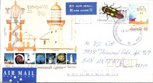 Australia, Postal Stationary, Insects, Lighthouses