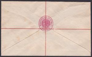 NEW SOUTH WALES QV 4d registered envelope unused...........................53751