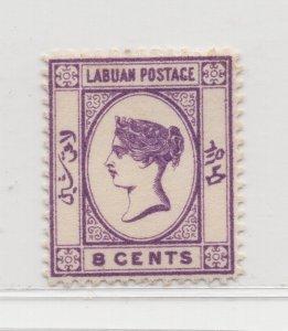 Malaya Labuan - 1894 - SG53 - 8c - MH #671