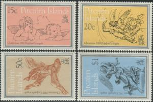 Pitcairn Islands 1982 SG230-233 Christmas set MNH