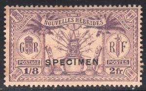 NEW HEBRIDES-FRENCH SCOTT 53