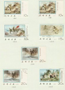 south korea stamps page ref 16945