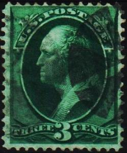 U.S.A. 1870 3c S.G.208 Fine Used
