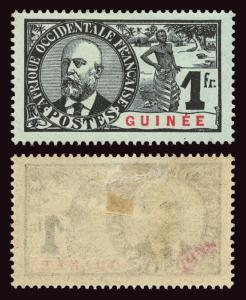 FRENCH GUINEA Scott #45 1906 Dr. Ballay mint HR