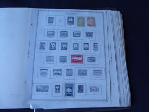 New Caledonia 1892-1984 Stamp Collection on Scott Intl Album Pages