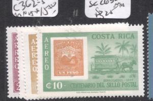 Costa Rica Stamps SC C362-5 MNH (13dgl)