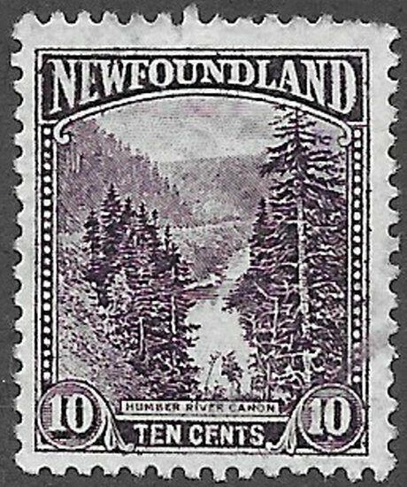 Newfoundland Scott Number 139 VF Used