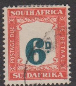 South Africa Sc#J28 Used