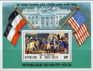 Burkina Faso #358 American Bicentennial - US Stamps MNH