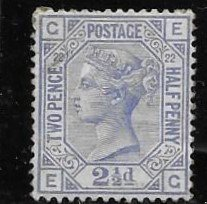 GB 82 pl 22  1881 issue VF  LH (pin sized thin)