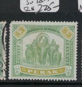 Malaya Perak Elephant SG 78 A Rare Stamp, Great Price MNG (4dra)