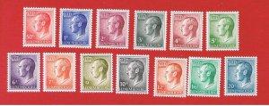 Luxembourg #418//575  MNH OG  Grand Duke  Free S/H
