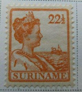 Surinam 1913 22 1/2c Fine MH* A13P9F943