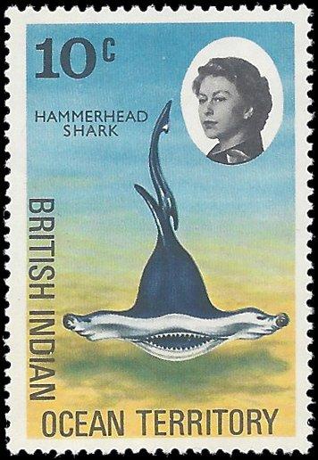 British Indian Ocean Territory 1968 #17 Mint NH