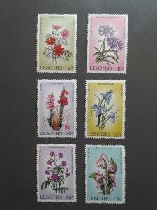 Lesotho 496-501 VF MNH. Scott $ 9.15