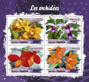TOGO 05 11 2019 Code: TG190544a-TG190564b. Orchids.