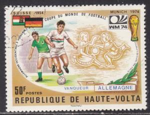 Burkina Faso 337 World Cup Soccer 1974