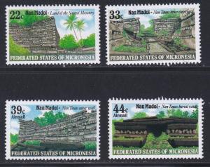 Micronesia # 45, C16-18, Tourist Sites, NH, 1/2 Cat.